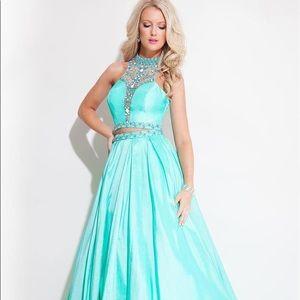 Rachel Allen size 4, 2piece, mint dress
